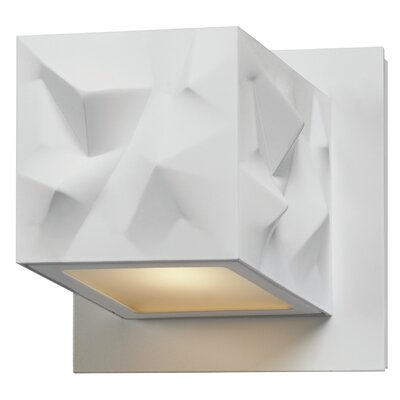 philips consumer luminaire alps 1 light led wall sconce reviews wayfair. Black Bedroom Furniture Sets. Home Design Ideas