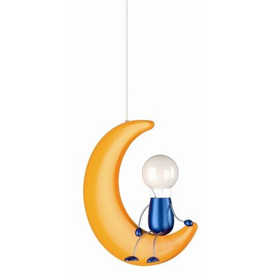 philips consumer luminaire 1 light pendant reviews wayfair. Black Bedroom Furniture Sets. Home Design Ideas