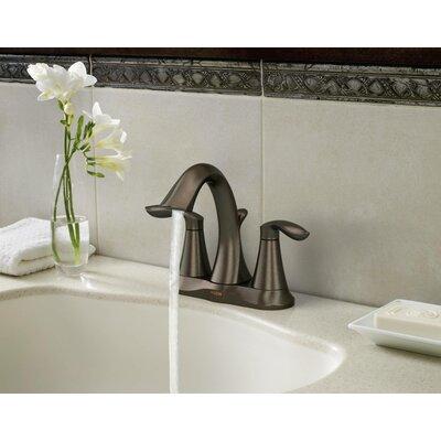 Moen Eva Two Handle Centerset Bathroom Faucet With