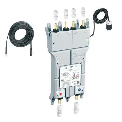 """Moen Iodigital 0.75"""" CC CPVC Inlet Push Fit Connectors Outlet Push Fit Pex Connection"""