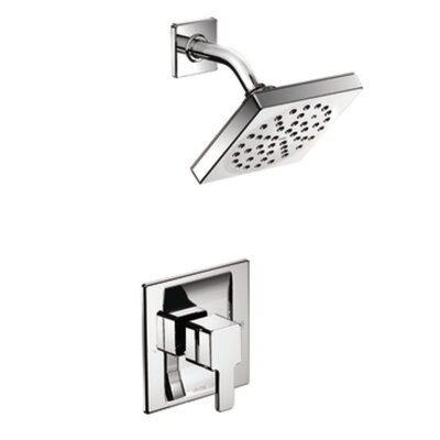 90 Degree Posi-Temp Eco-Performance Shower Faucet Trim with Lever Handle Product Photo