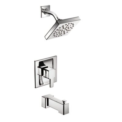 90 Degree Posi Temp Eco Performance Tub and Shower Faucet Trim with Lever Handle Product Photo