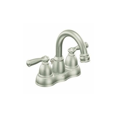 Moen Banbury Two Handle Centerset High Arc Bathroom Faucet With Optional Pop Up Drain Reviews