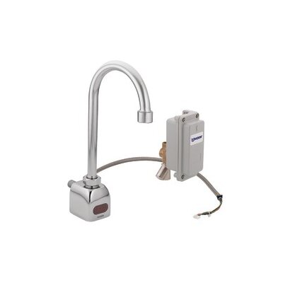 M-Power Sensor-Operated Electronic Centerset Lead Compliant High Arc Bathroom Faucet by Moen
