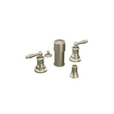 Moen Waterhill Double Handle Vertical Spray Bidet Faucet