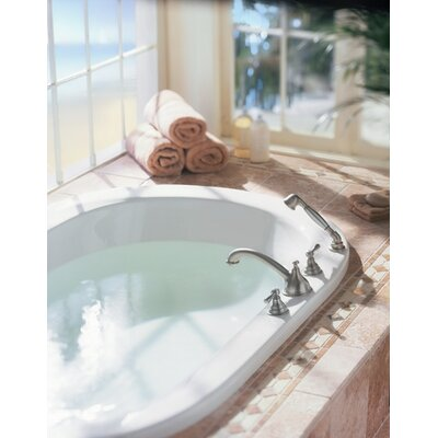 Kingsley 2-Handle Deck-Mount Roman Tub Faucet with Handshower (Valve Not Included) Product Photo