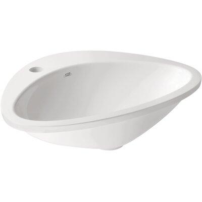 Hansgrohe Axor Massaud 1 Hole Drop-In Bathroom Sink