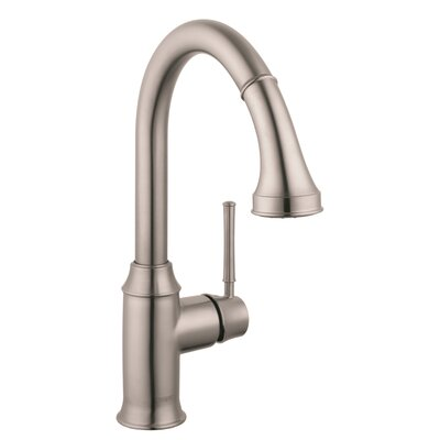 hansgrohe talis c high arc one handle deck mounted kitchen