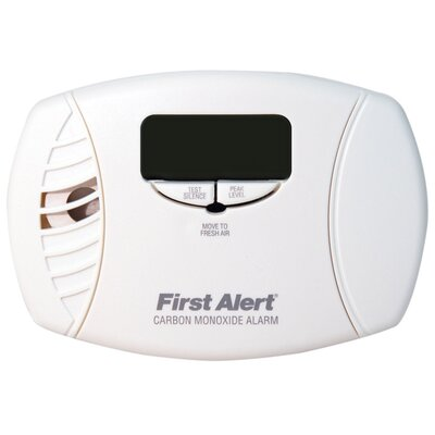 Carbon Monoxide Alarm with Backlit Product Photo