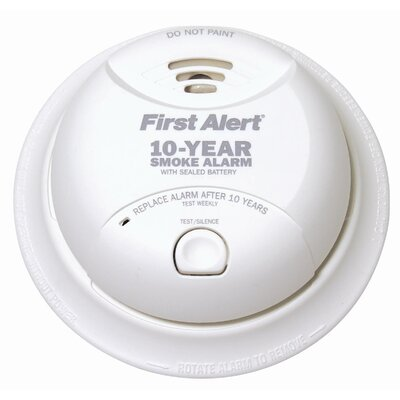 Power Cell Smoke Detector in White Product Photo