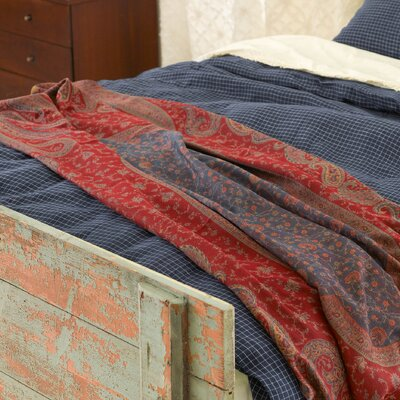 Vanhi Paisley Wool Throw by Pine Cone Hill