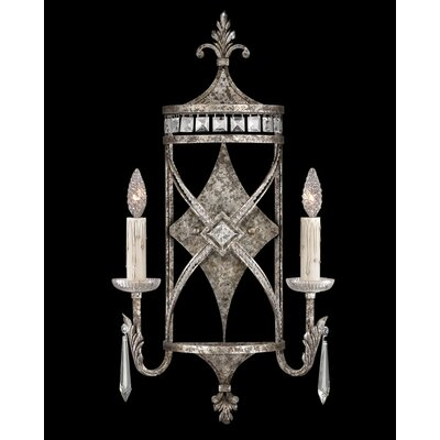 Fine Art Lamps Winter Palace 2 Light Wall Sconce