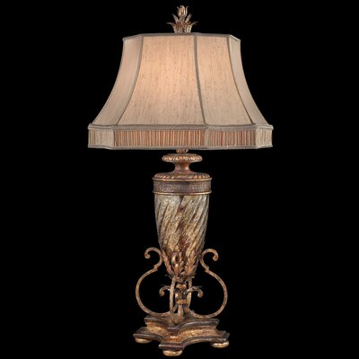 """Fine Art Lamps Pastiche 40"""" H Table Lamp with Bell Shade"""