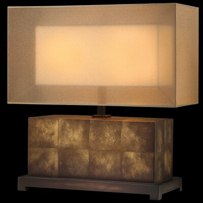 Fine Art Lamps Quadralli Table Lamp with Rectangular Shade
