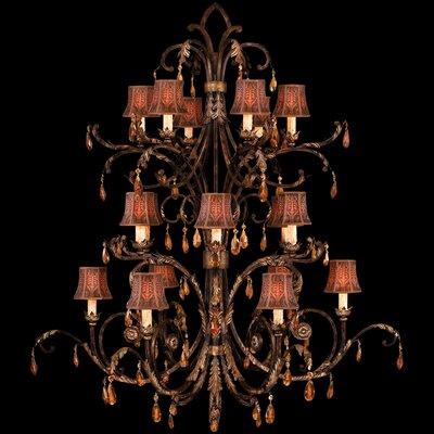 Fine Art Lamps Brighton Pavillion 18 Light Chandelier