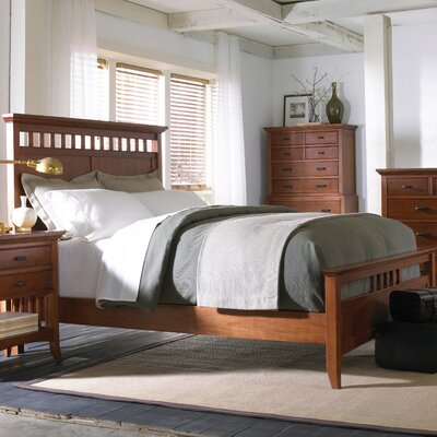 Cresent Furniture Modern Shaker Panel Customizable Bedroom Set Reviews Wayfair