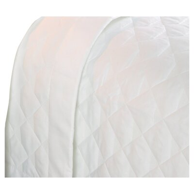 Diamond Quilted 400 Thread Count Coverlet by Caravelle