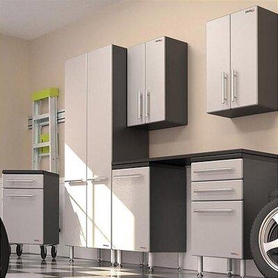 Garage PRO 7' H x 11' W x 2' D 7-Piece Storage System with Workstation ...