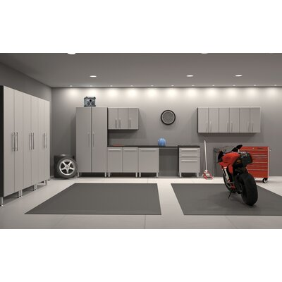 Garage PRO 12-Piece Classic Storage System with Workstation by Ulti-MATE