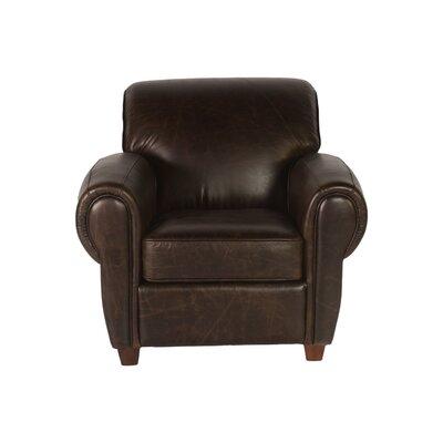 Sicar Club Chair by Lazzaro Leather