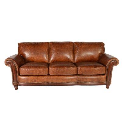 Alexus Leather Sofa by Lazzaro Leather