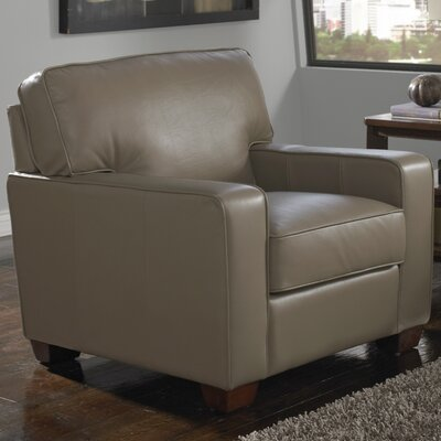 Como Leather Arm Chair by Lazzaro Leather