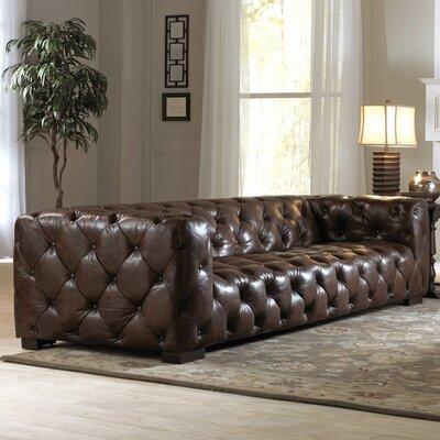 Nautical II Leather Sofa by Lazzaro Leather