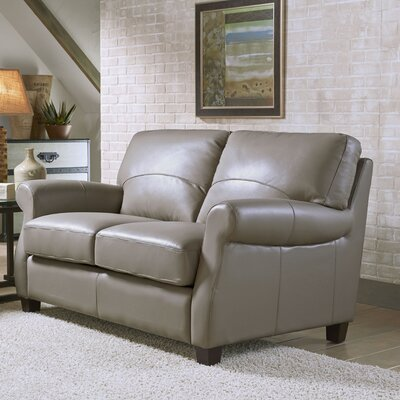 Carlisle Leather Loveseat by Lazzaro Leather