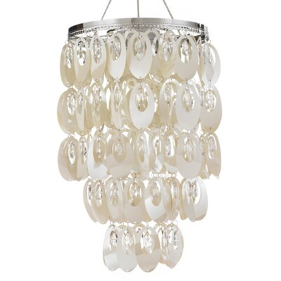 Oval Shimmer Chandelier Product Photo
