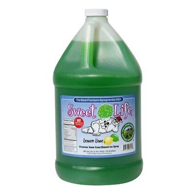 Great Northern Popcorn Premium Lemon Lime Ice Syrup