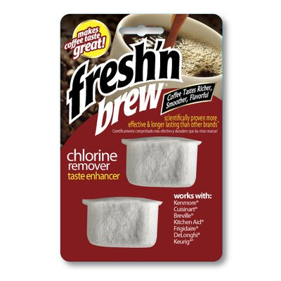 Fresh n Brew Chlorine Remover Replacement Filters (Set of 2) Product Photo