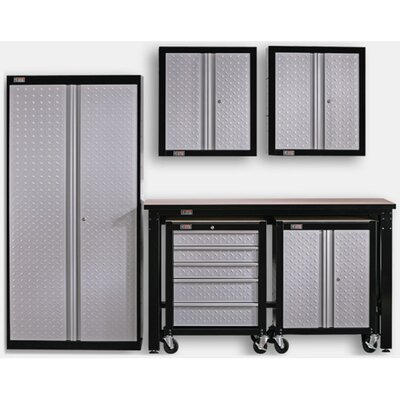 Stack-On 6' H x 4.5' W x 3.5' D 6-Piece Cadet Garage Storage System