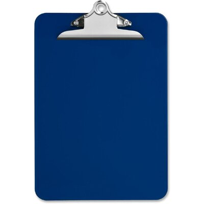 "Nature Saver Recycled Plastic Clipboards, 1"" Capacity"