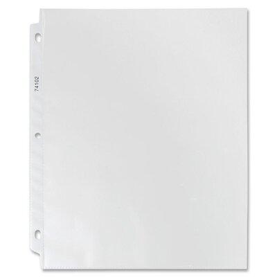 "Sparco Products Sheet Protectors, Top Load, 3.2 mil, 9""x11"", 100 per Box"