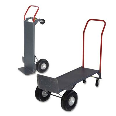 """Sparco Products Convertible Hand Truck, w/Deck, 21""""x18""""x47"""", 800 lb. Cap."""