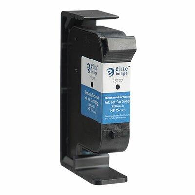 Elite Image Inkjet Printer Cartridge, 600 Page Yield, Black