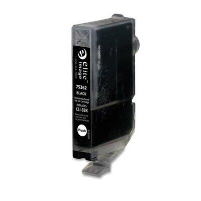 Elite Image Replacement Ink Cartridge, CLI-8C, 300/EA, Cyan