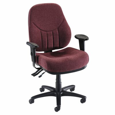Baily Series High-Back Multi-Task Chairs, Black by Lorell