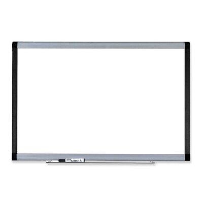 Lorell Magnetic Wall Mounted Whiteboard, 4' x 6'