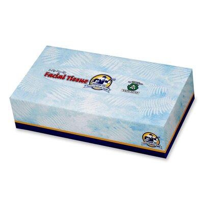 Genuine Joe Facial 2-Ply Paper Towels - 100 Towels per Box / 30 Boxes per Carton