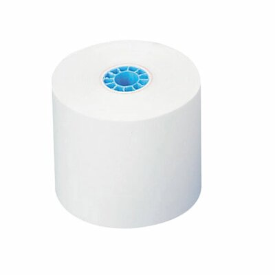 """Nature Saver Recycled Add Rolls, White, 2-1/4""""x150', 1-Ply"""