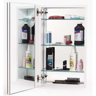 "15"" x 25"" Recessed Beveled Edge Medicine Cabinet Product Photo"