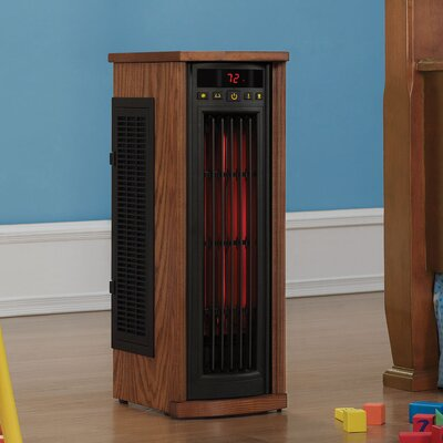 1,500 Watt Portable Electric Infrared Tower Heater by Duraflame