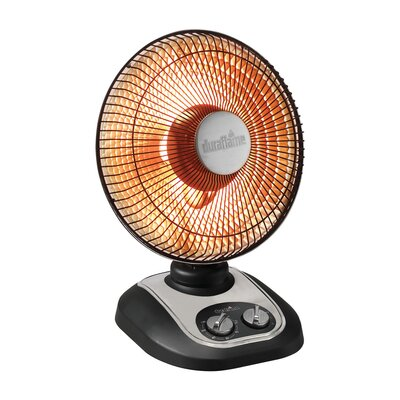 800 Watt Portable Electric Radiant Compact Heater by Duraflame