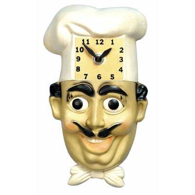 Animated Clocks Chef Luigi Wall Clock Amp Reviews Wayfair