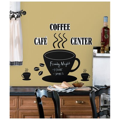 Room Mates Room Mates Deco 22 Piece Coffee Cup Chalkboard Wall Decal