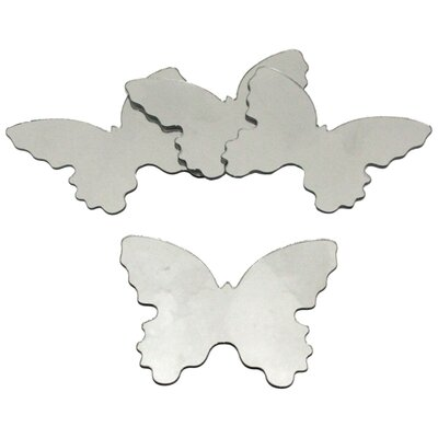 Room Mates Wall Mirrors Butterfly Wall Decal
