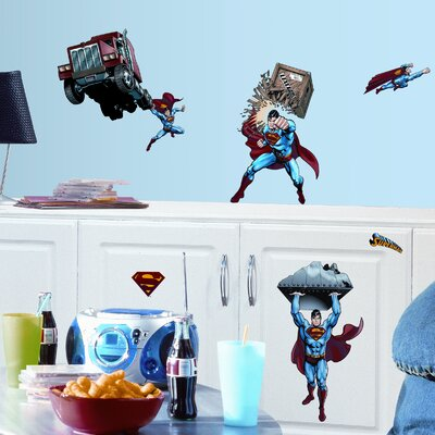 Room Mates Favorite Characters 21 Piece Superman Day of Doom Wall Decal