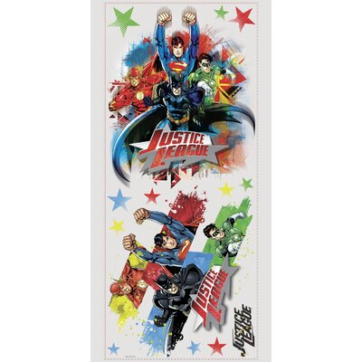 Popular Characters Justice League Wall Decal by Room Mates