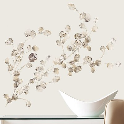 Room Mates Peel and Stick 24 Piece Dollar Branch Wall Decal